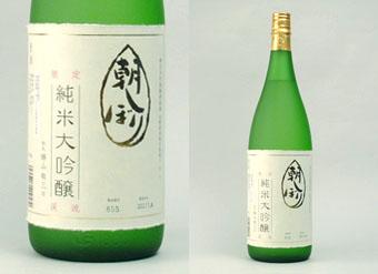 朝しぼり純米大吟醸1.8L