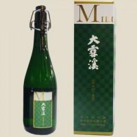 大雪渓 純米大吟醸 ミレニアム 長期低温熟成秘蔵古酒 箱入り 2000年仕込