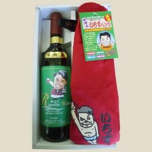 峰竜太 いちずパンツ 赤 トランクス& ワイン 赤 竜太ワイン(赤) 750ml セット
